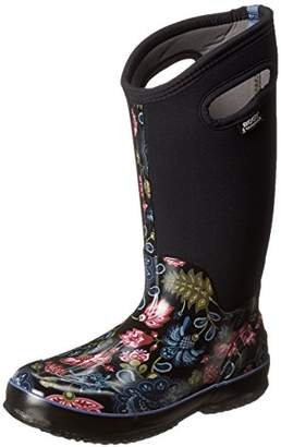 Bogs Women's Classic Tall Winter Blooms Waterproof Insulated Boot