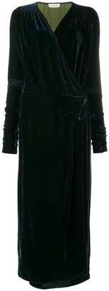 ATTICO long wrap dress