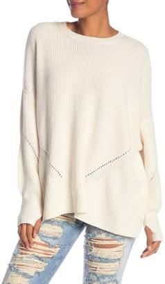 Alice + Olivia Bowen Oversized Boxy Sweater