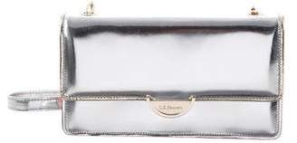 LK Bennett Metallic Leather Crossbody Bag