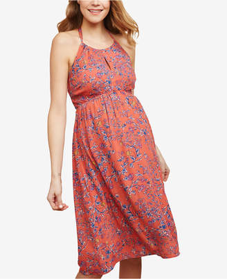 Jessica Simpson Maternity Printed Dress