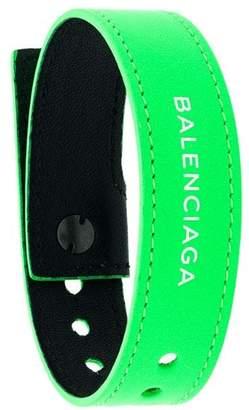 Balenciaga logo bracelet