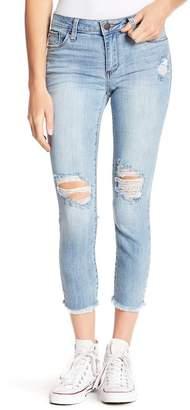 STS Blue Emma Crop Frayed Hem Skinny Jeans