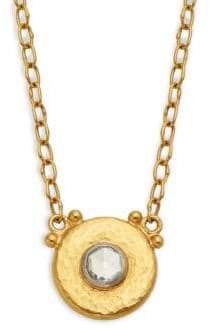 Gurhan Delicate Hue Collection 24K Yellow Gold Diamond Pendant Necklace