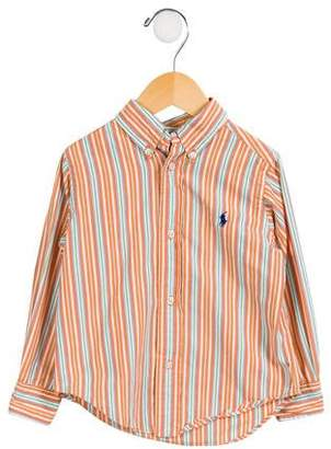 Ralph Lauren Boys' Striped Button-Up Shirt