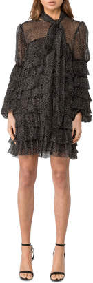 Asilio Ruffle Mini Dress