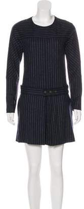 See by Chloe Wool Striped Dress