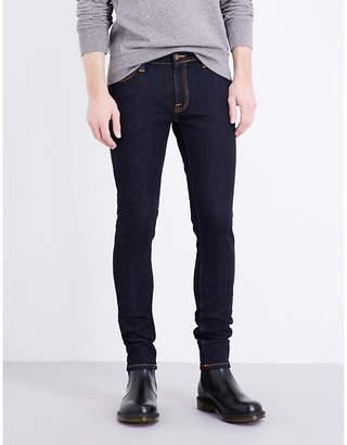 Nudie Jeans Lin slim-fit skinny jeans