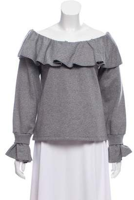 Opening Ceremony Ruffled Long Sleeve Top w/ Tags