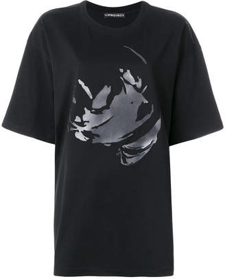 Y/Project Y / Project oversized printed T-shirt