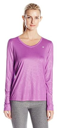 Champion Women's Powertrain Long Sleeve Tee $7.01 thestylecure.com