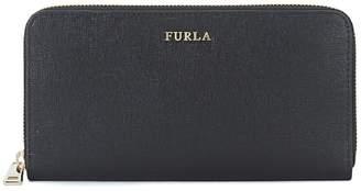 Furla Babylon Black Saffiano Leather Wallet