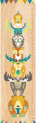 "GreenBox Art ""Tiny Totem"" by Modern Whimsy Art Growth Chart"
