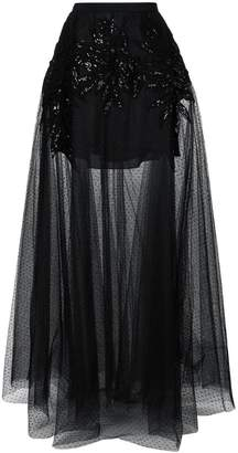 Elie Saab embellished sheer maxi skirt