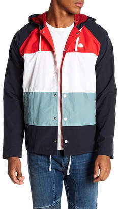 Diamond Supply Co. Alps Contrast Back Print Nylon Jacket
