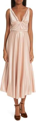 Rachel Comey Badu Satin Midi Dress
