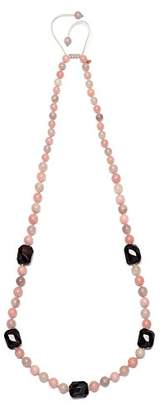 Lola Rose Women Multicolour Coral Agate Strand Necklace of Length 72cm 692304