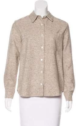 Jenni Kayne Button-Up Knit Top
