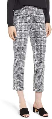 MICHAEL Michael Kors Plaid Cigarette Pants