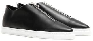 Stella McCartney Medusa faux leather slip-on sneakers