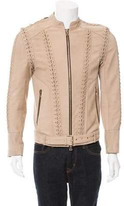 Balmain 2016 Suede Jacket w/ Tags