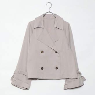 スタイルブロック STYLEBLOCK ショートトレンチコートジャケット