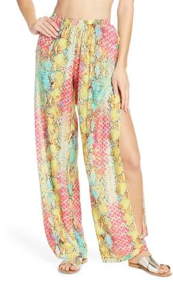 Luli Fama Smoke Show Cover-Up Pants