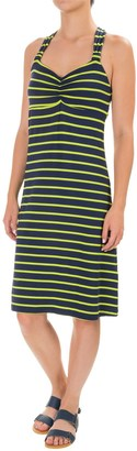 Dakini Yarn-Dyed Cinch-Strap Dress - Built-In Bra, Sleeveless (For Women) $19.99 thestylecure.com