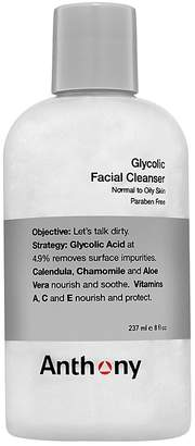 Anthony Logistics For Men Glycolic Facial Cleanser 8 oz.