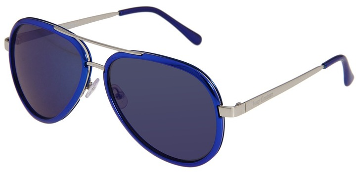 Juicy Couture Juicy 516 (Neon Blue/Grey/Blue) - Eyewear