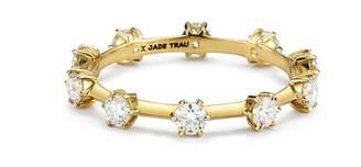 Jade Trau Kismet Band Ring - Yellow Gold