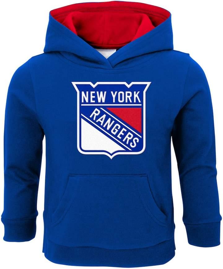Boys 4-7 New York Rangers Prime Pullover Fleece Hoodie