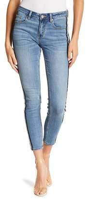 Eunina Denim Jude Mid Rise Ankle Skinny Jeans (Juniors)