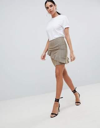 Love Ruffle Detail Skirt