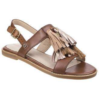 Hush Puppies Womens/Ladies Chrissie Tassel Leather Sandals (6 US)