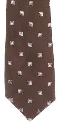 Kiton Silk Jacquard Tie