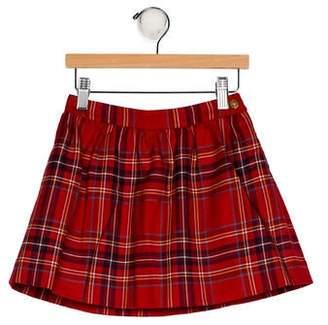 Brooks Brothers Girls' Plaid Mini Skirt