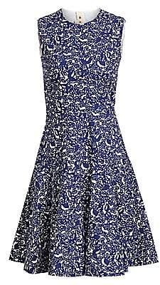 Marni Women's Floral A-Line Dress