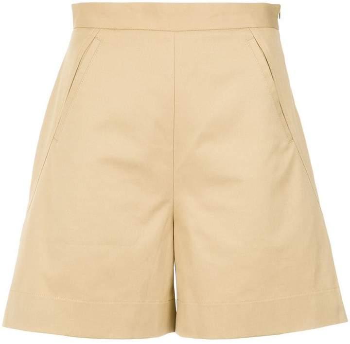 Andrea Marques mid rise shorts