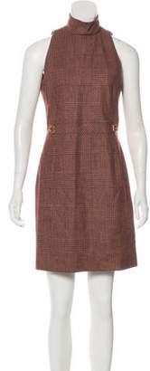 Celine Houndstooth Mini Dress