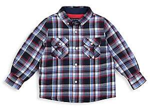 Andy & Evan Andy& Evan Andy& Evan Little Boy's Quilted Plaid Button-Down Shirt