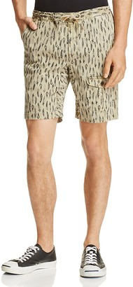 Michael Bastian Feather Print Drawstring Shorts $128 thestylecure.com