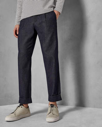 Ted Baker CONTEMP Wide leg cropped trousers