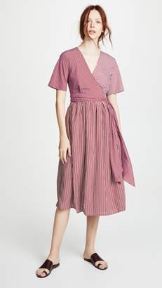 Diane von Furstenberg Ruffle Front Dress