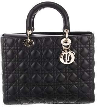 Christian Dior 2018 Large Lady Bag