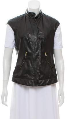 HUGO BOSS Boss by Perforated Leather Vest
