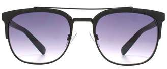 French Connection Metal Club Master Sunglasses