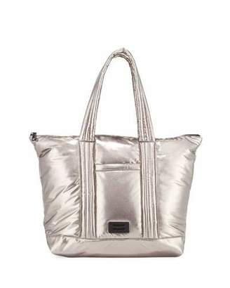 Rebecca Minkoff Puffy Large Metallic Tote Bag