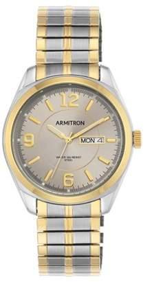 Armitron Men's Two-Tone Expansion-Band Dress Watch
