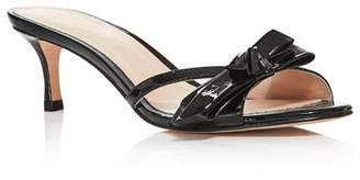 Kate Spade Women's Simona Backless Kitten Heel Sandals